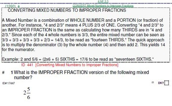 Grade 4 Mental Math exercises and drills (gasp!)