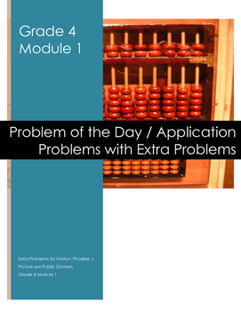 Grade 4 Module 1 Application Problems with Extra