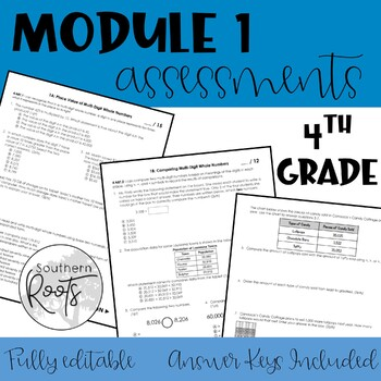 Engage NY Fourth Grade Module 1 Assessments