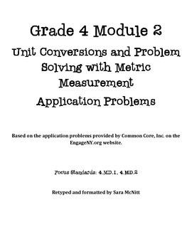 Grade 4 Module 2 Application Problems