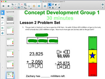 Grade 4 Module 2 Eureka Math 8 Individual Smart Notebooks FULL MODULE