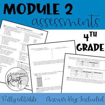 Engage NY Fourth Grade Math Module 2 Assessment