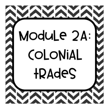 Engage NY Grade 4 Module 2A Colonial Trades