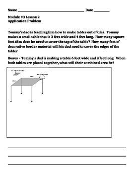 Grade 4 Module 3 Application Problems