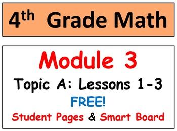 Free-Grade 4, Module 3, Lessons 1-5 Smart Bd-Stud Pgs-HOT Q's-Bundle!