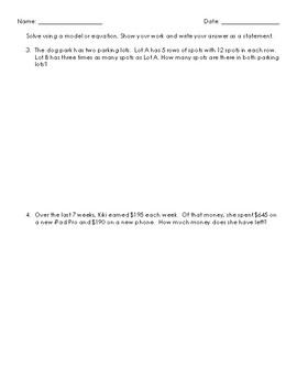 Grade 4 Module 3 Mid Module Assessment Review