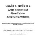 Grade 4 Module 4 Application Problems