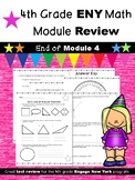 4th Grade Engage New York (ENY) Math Module Review END of