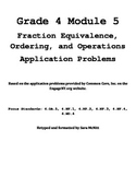 Grade 4 Module 5 Application Problems