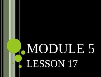 Grade 4 Module 5 Lesson 17 Engage New York
