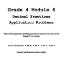 Grade 4 Module 6 Application Problems