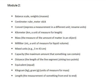 FREE-Grade 4 Math Vocabulary for ENTIRE Modules 1-7 Engage