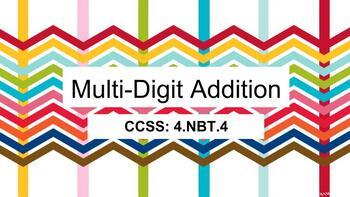 Google Classroom Grade 4 Multi-Digit Addition