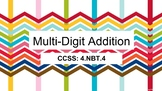 Google Classroom Grade 4 Multi-Digit Addition