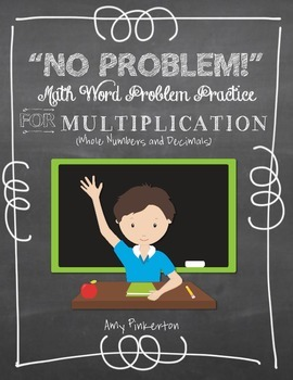 Grade 4 Multiplication (and Addition / Subtraction) Word P