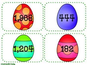 Grade 4 - Multiplication and Division - Easter Egg Hunt