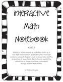 Grade 4 NBT.5 Interactive Math Notebook