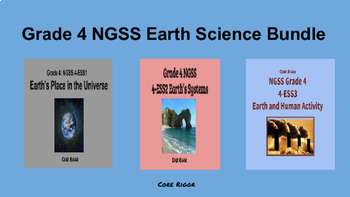 Grade 4 NGSS Earth Science Bundle