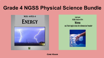 Grade 4 NGSS Physical Science Bundle