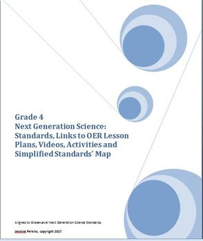 Grade 4 Next Generation Science Standards - Links to OER Lessons