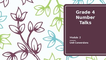 Grade 4 Number Talks for Engage NY/ Eureka Math Module 2