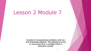 Grade 4 Number Talks for Engage NY/ Eureka Math Module 7