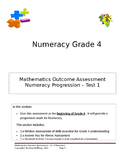 Grade 4 - Numeracy Progression Assessment