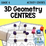 2D and 3D Geometry - 3D Geometry Centres (Grade 4 Math Activity)