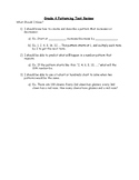 Grade 4 - Ontario Math Curriculum - Patterns and Relations