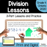 Multiplication and Division - Division (Grade 4 Math Three Part Lesson)