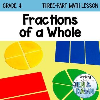 Grade 4 Ontario Math Three Part Lesson Fractions 1