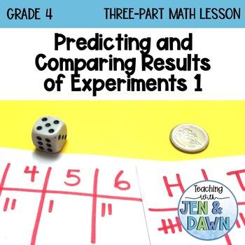 Grade 4 Ontario Math Three Part Lesson Probability 1