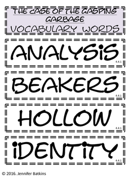 Grade 4 Unit 4 Reading Vocabulary Word Wall Words