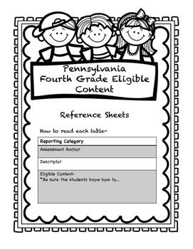 Grade 4 Pennsylvania Math and ELA Standards- A Handy, Dand