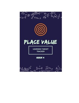 Place Value Learning Target Tracker