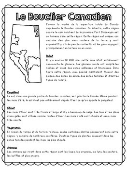 Grade 4 - Quatrième année - L'Alberta: l'essence d'un lieu