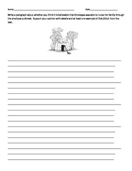 Grade 4 READY GEN: Unit 2 Birchbark House Short Response