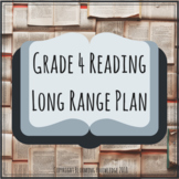 Grade 4 Reading Long Range Plan