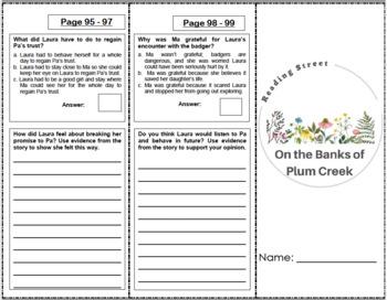 4th Grade Reading Street Activity Pack - Unit 1