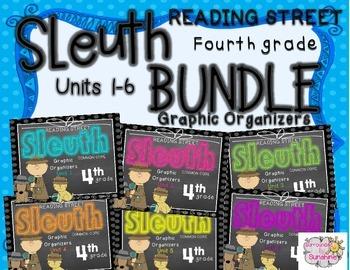 Grade 4 Reading Street SLEUTH Units 1-6 BUNDLE