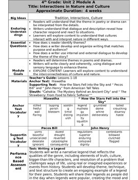 Grade 4 Ready Gen Overview Unit 2A    Revised
