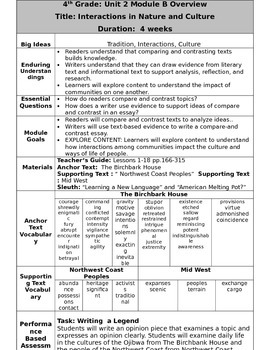 Grade 4 Ready Gen Overview Unit 2B    Revised