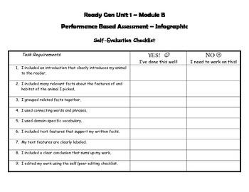 Grade 4 Ready Gen Unit 1 Module B Performance Task & Rubric