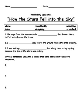 "Grade 4 ReadyGen Unit 2 Text Collection for ""How the Stars Fell Into the Sky"""