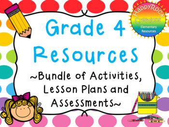 Grade 4 Resources - Variety Bundle