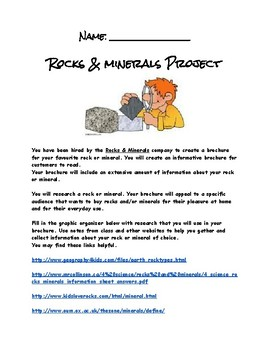 Grade 4 Rock and Mineral Project