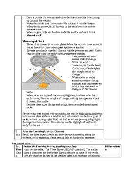 Rocks And Minerals Worksheet For 4th Grade: grade 4 rocks and minerals unit by mrs roundell tpt,