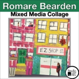 Grade 4 Romare Bearden Inspired Collage Lesson