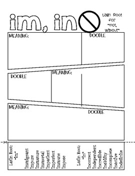 Greek and Latin Root Word Study Bundle