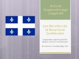 Grade 4 (SK Level 4) Quebec Cultural Recipes Unscrambling Activity